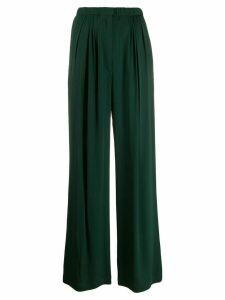 Christian Wijnants bias skirt - Green