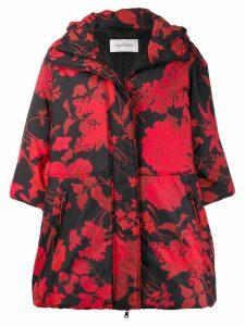 Valentino floral pattern lightweight jacket - Black