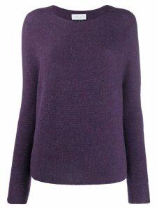 Christian Wijnants knitted jumper - Purple
