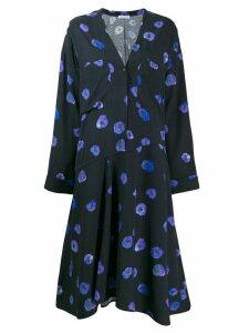 Christian Wijnants floral dress - Blue