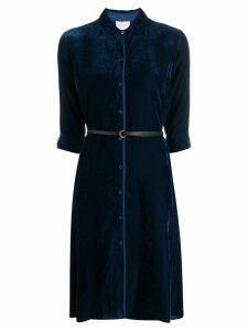 Forte Forte belted shirt dress - Blue