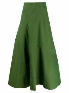 Christian Wijnants bias skirt - Green