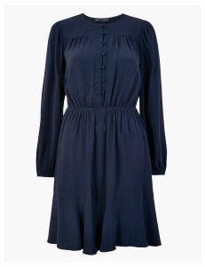 M&S Collection Button Detail Mini Dress