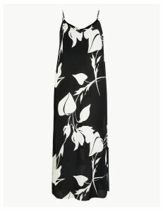 M&S Collection Printed Slip Midi Dress