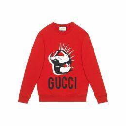 Online Exclusive Gucci Manifesto oversize sweatshirt