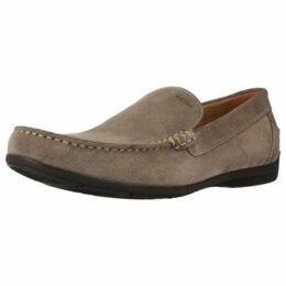 Geox  U SIMON A  women's Loafers / Casual Shoes in Brown