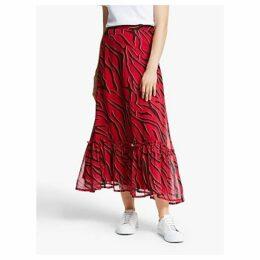 Gestuz Corin Skirt, Red Coral