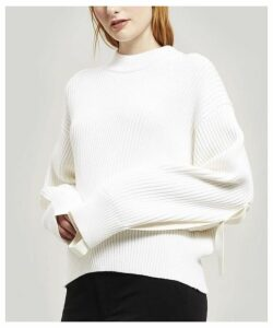 Ribbed Crew-Neck Jumper
