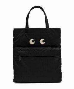 Eyes Portrait Nylon Tote Bag