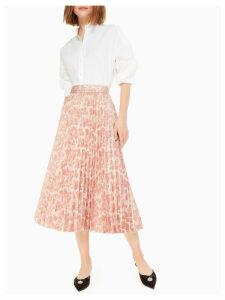 Metallic Jacquard Skirt - Rose Dew - 6 (Us 2)