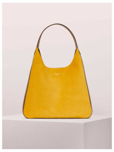 Rita Suede Large Hobo Bag - Soleil - One Size