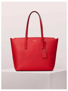 Margaux Large Tote - Hot Chili - One Size