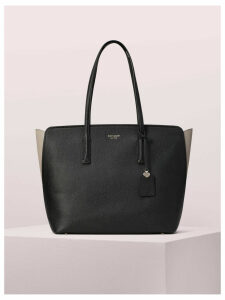 Margaux Large Tote - Black/Warm Taupe - One Size