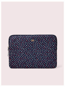 Lips Universal Laptop Sleeve - Navy Multi - One Size