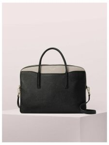 Margaux Universal Laptop Bag - Black/Warm Taupe - One Size