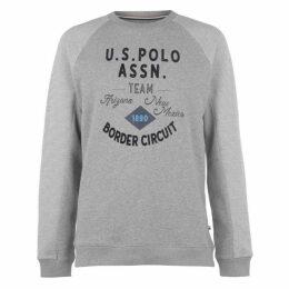 US Polo Assn USPA Textured CN Swt Sn94