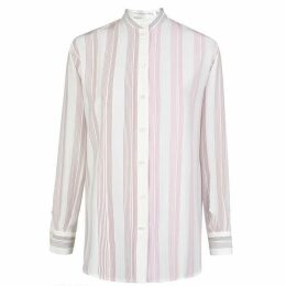 VICTORIA BECKHAM Long Sleeved Stripe Shirt