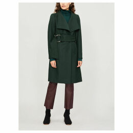 Rayay wool-cashmere blend belted coat