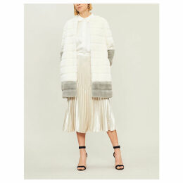 Argenta faux-fur coat