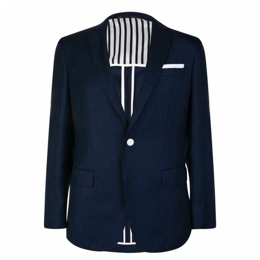 Boss Weave Textured Blazer
