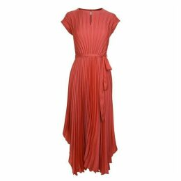 Boss Smart Casual Pleated Asymmetric Dress