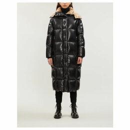 Parnaiba hooded nylon coat