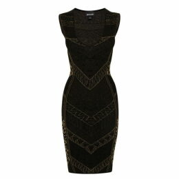 Just Cavalli Sleeveless Knit Dress