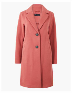 M&S Collection Petite Single Breasted Coat