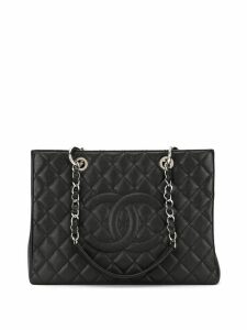 Chanel Pre-Owned '14s quilted shoulder bag - Black