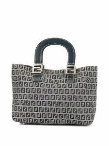 Fendi Pre-Owned Zucca pattern tote bag - Grey