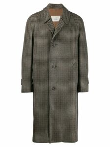 Aquascutum Vintage 1990's tweed overcoat - Brown