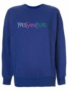Yves Saint Laurent Pre-Owned Long Sleeve Tops - Purple