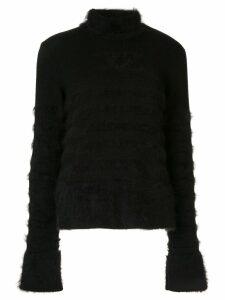 Chanel Pre-Owned high neck jumper - Black