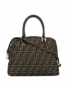 Fendi Pre-Owned Zucca pattern 2way top-handle bag - Brown