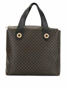 Céline Pre-Owned Macadam Pattern Hand Tote Bag - Brown