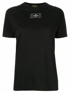 Fendi Pre-Owned logo print T-shirt - Black
