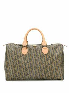 Christian Dior Pre-Owned printed monogram handbag - Brown