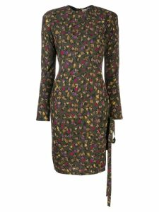 Versace Pre-Owned fall printed dress - Green
