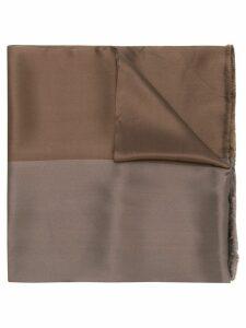 Giorgio Armani Pre-Owned 1990's tonal scarf - Brown
