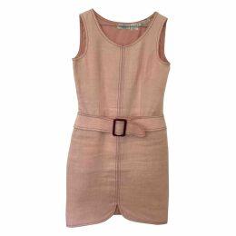 Linen mid-length dress
