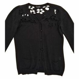 Black Cotton Knitwear