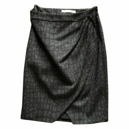 Wool skirt suit