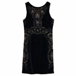 Velvet mid-length dress