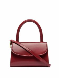 BY FAR mini cross-body bag - Red