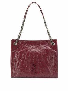 Saint Laurent niki medium shopper bag - Red