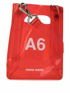 Nana-Nana mini A6 tote bag - Red