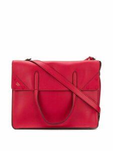 Fendi FF fendi slip large shoulder bag - Red