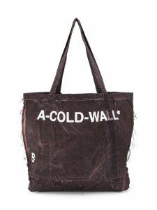 A-Cold-Wall* distressed shopper - Purple