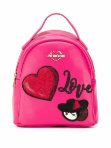 Love Moschino Love backpack - Pink