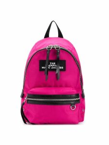 Marc Jacobs medium zipped backpack - Pink